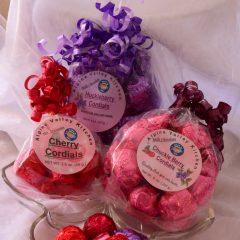 Cordials   Huckleberry   Cherry