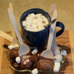 Delicious hot chocolate