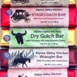 Western Series Candy Bar