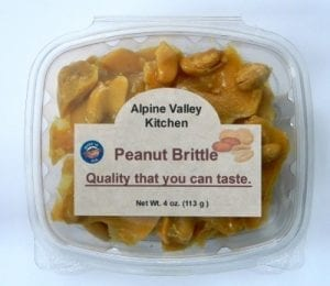 Peanut Brittle Almond Brittle