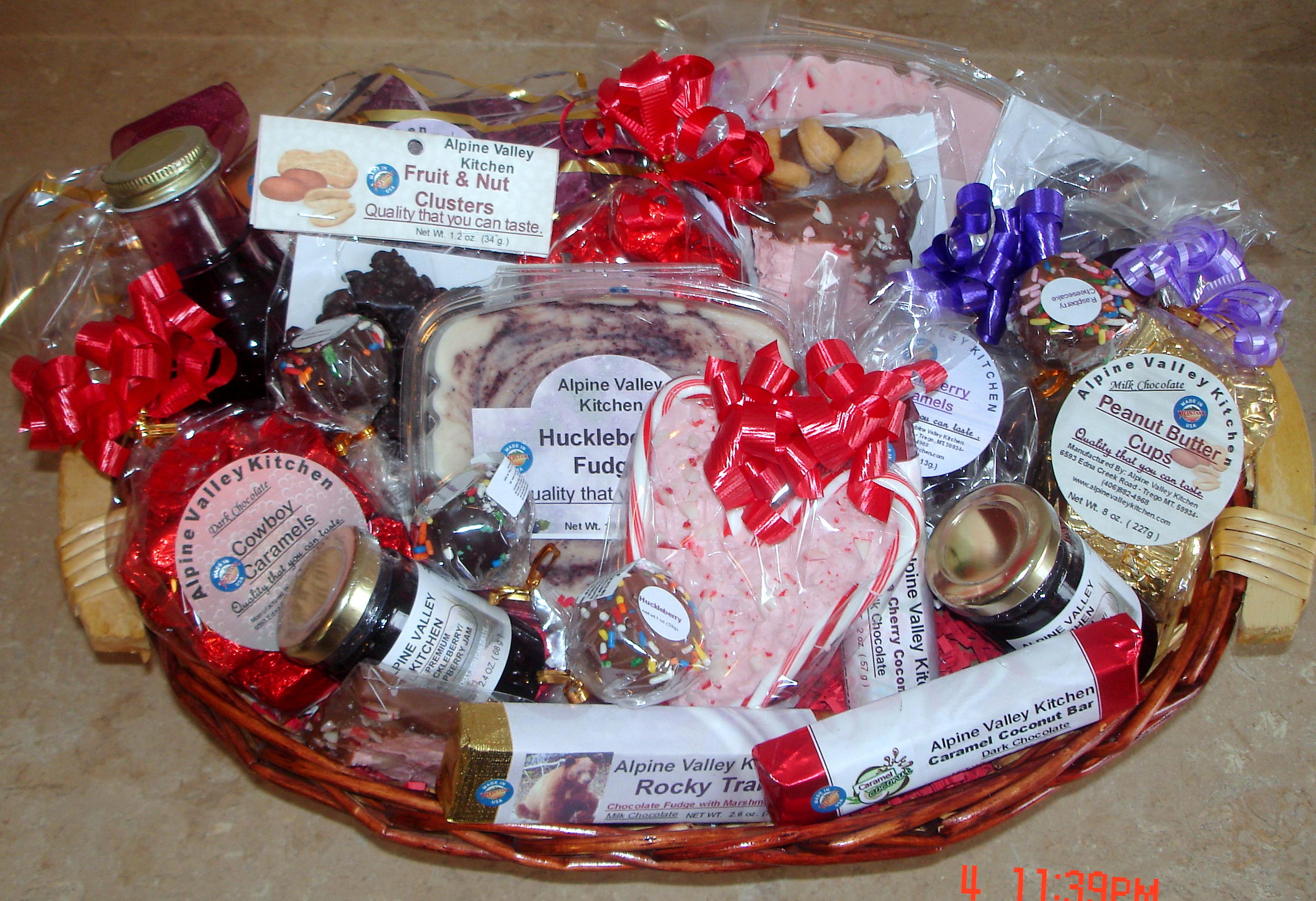 Kitchen Gift Basket Large Gift Basket Alpine Valley Kitchen Alpine Valley Kitchen