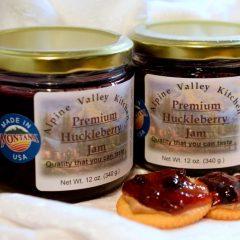Huckleberry Jam   Alpine Valley Kitchen