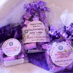 Huckleberry Jelly Logs   Chocolates   Candy