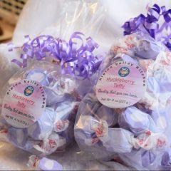 Huckleberry Taffy   Candy